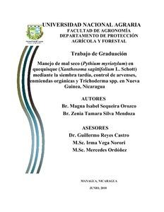 trichoderma thesis