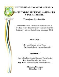 Caracterizaci n de las t cnicas reproductivas a nivel de for Vivero el botanico